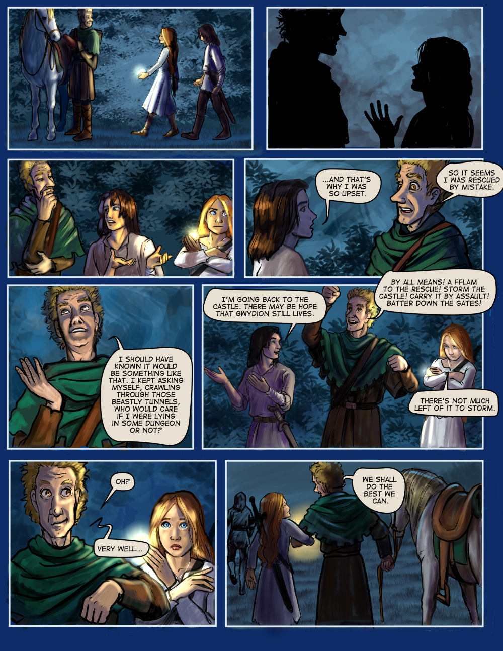 Chapter Nine: page Seven
